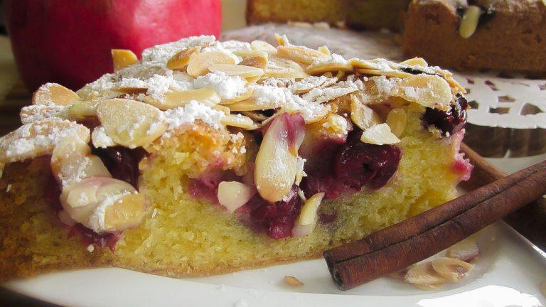 Кулинарный рецепт: Венский пирог с вишней на ГОТОВИМ СМАЧНО