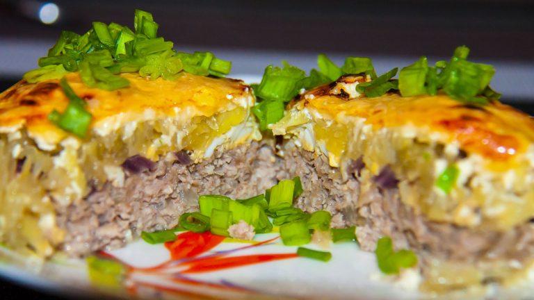 Кулинарный рецепт: «Стожки» из фарша с картофелем и сыром на ГОТОВИМ СМАЧНО