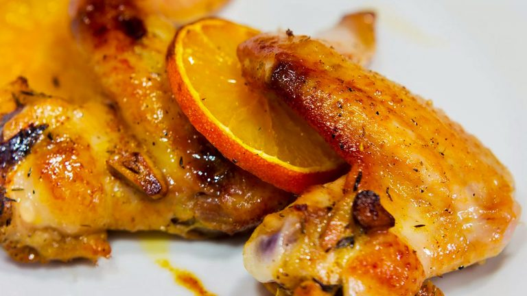 Кулинарный рецепт: Курица с апельсинами на ГОТОВИМ СМАЧНО