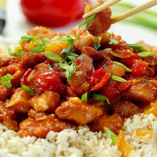 Кулинарный рецепт: Сладкая курица по-китайски на ГОТОВИМ СМАЧНО