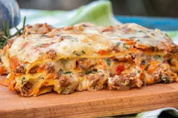Кулинарный рецепт: Лазанья с соусом бешамель на ГОТОВИМ СМАЧНО