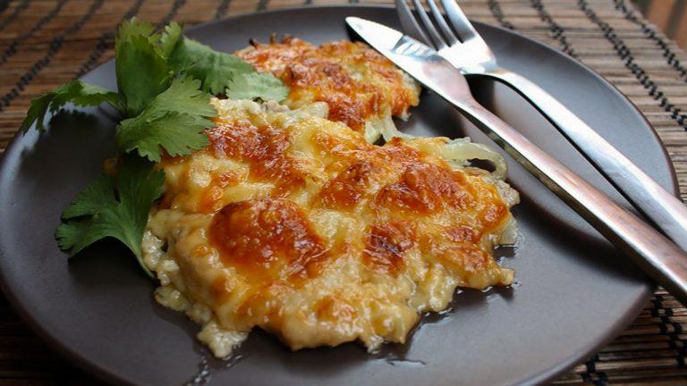 Кулинарный рецепт: Мясо по-французски с картофелем на ГОТОВИМ СМАЧНО