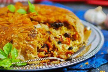 Кулинарный рецепт: Азербайджанский «Шах-плов» в лаваше на ГОТОВИМ СМАЧНО