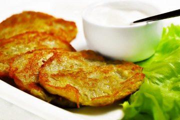 Кулинарный рецепт: Драники (деруны) на ГОТОВИМ СМАЧНО