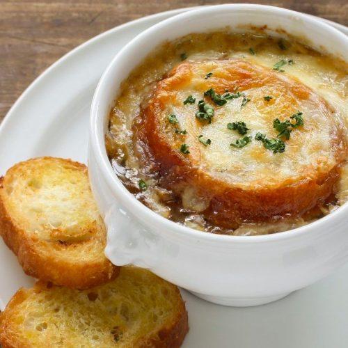 Кулинарный рецепт: Французский луковый суп на ГОТОВИМ СМАЧНО