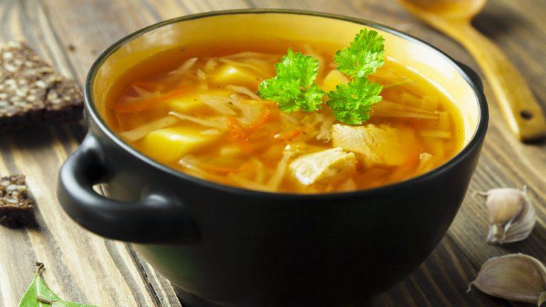 Кулинарный рецепт: Щи из квашеной капусты со свининой на ГОТОВИМ СМАЧНО