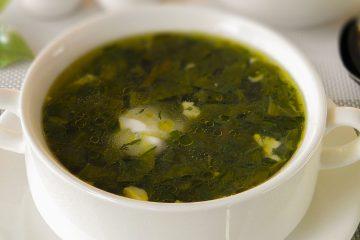 Кулинарный рецепт: Зеленый борщ на ГОТОВИМ СМАЧНО