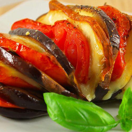 Кулинарный рецепт: Запеканка из баклажанов с помидорами и сыром на ГОТОВИМ СМАЧНО