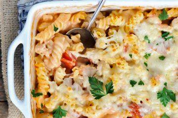 Кулинарный рецепт: Запеканка из макарон с курицей на ГОТОВИМ СМАЧНО