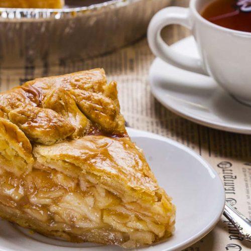 Кулинарный рецепт: Американский яблочный пирог (American apple pie) на ГОТОВИМ СМАЧНО