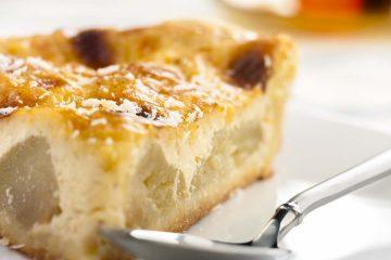 Кулинарный рецепт: Творожная запеканка с яблоками на ГОТОВИМ СМАЧНО