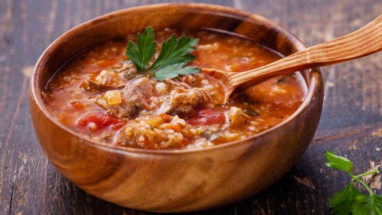 Кулинарный рецепт: Суп «Харчо» на ГОТОВИМ СМАЧНО
