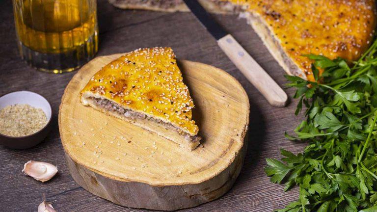 Кулинарный рецепт: Пирог с мясом на кефире на ГОТОВИМ СМАЧНО