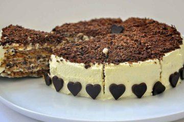 Кулинарный рецепт: Итальянский ореховый торт на ГОТОВИМ СМАЧНО