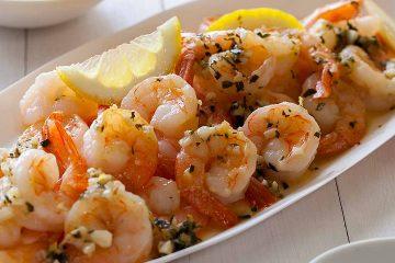 Кулинарный рецепт: Креветки в сливочно-чесночном соусе на ГОТОВИМ СМАЧНО