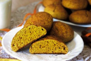 Кулинарный рецепт: Печенье из тыквы с кокосовой стружкой ~ ГОТОВИМ СМАЧНО