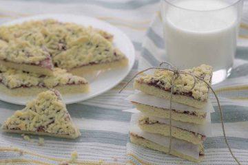 Кулинарный рецепт: Тертый пирог с вареньем ~ ГОТОВИМ СМАЧНО