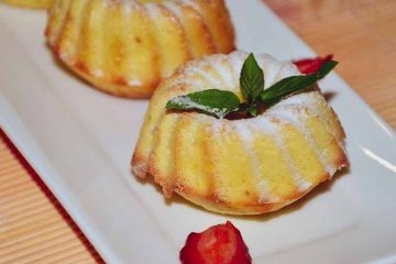 Кулинарный рецепт: Апельсиновые капкейки ~ ГОТОВИМ СМАЧНО