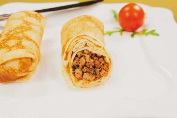Кулинарный рецепт: Блинчики с фаршем ~ ГОТОВИМ СМАЧНО